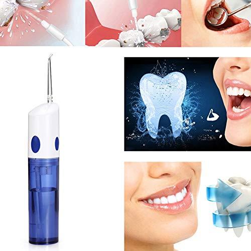 JMung'S Flosser de agua, Irrigador oral portátil Recargable Dental Flosser tragbare Zahnreinigung und Zahnpflege für zu Hause, im Büro und auf Reisen