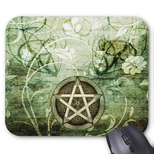 Wicca Rustica: Woodland Pentacle Mouse Pad 18×22 cm