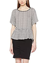 Great Plains Damen Bluse Ditsy Daydream Gathered Hem Top
