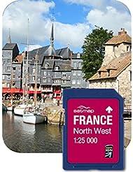 Satmap GPS System Karte 1:25000 Frankreich: Nordwesten, FR-CY-25-SD-002