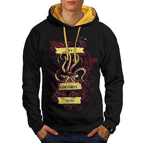 we-do-not-sow-ghost-squid-beast-men-new-black-gold-hood-m-contrast-hoodie-wellcoda