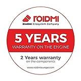 Roidmi F8 Storm - Aspirapolvere senza fili con App, Versione Italiana, 415W, 100.000 RPM, autonomia fino a 55 minuti, serbatoio 0.4L, colore bianco