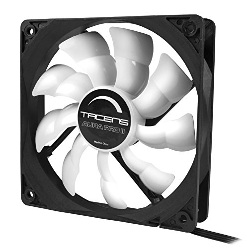 Tacens Aura Pro II - Ventilador para ordenador (12 cm, adaptadores de...