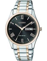 Citizen Herren-Armbanduhr Analog Quarz Edelstahl BM8507-81EE
