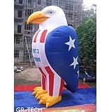 gr-tech Instrument® 26ft Aufblasbare Eagle Patriotische Dekoration Werbung Förderung mit Gebläse 220V oder 110V