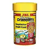 JBL NovoGranoMix 30099 Alleinfutter für kleine Aquarienfische Nachfülldose Granulat, 100 ml