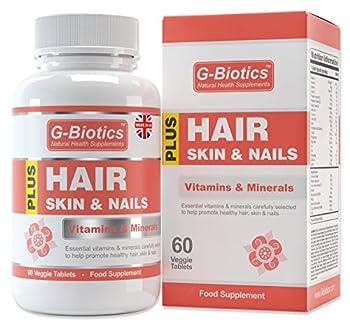 G-biotics Haut Haare Nägel Vitamine ~ Extra Hochwertiges Nahrungsergänzungsmittel 0