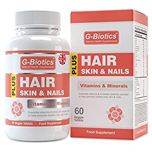G-Biotics Hair Skin and Nails Vitamins ~ HIGH GRADE Supplement ~ ON SALE NOW!