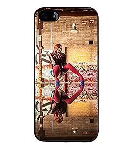 PrintVisa Babe High Gloss Designer Back Case Cover for Apple iPhone 5S