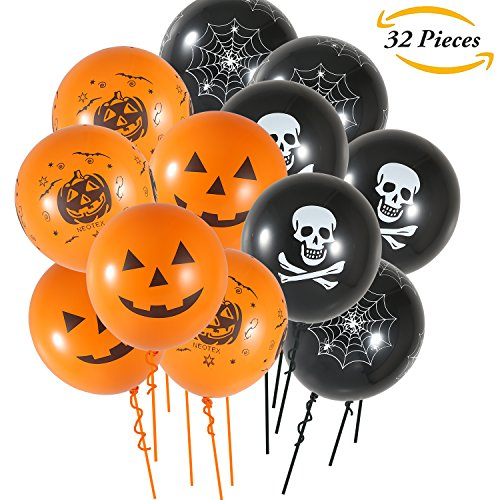 oween Ballons 12 Zoll Halloween Party Ballons für Halloween Party Dekoration (Scary Halloween-requisiten Uk)