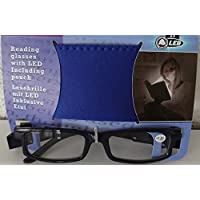 FORNAX® Reading glasses with LED including pouch