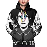 UOSIQZDF Coole Hoodies Black Men's Hoodie Sexy L The Cure Pullover Hoodie