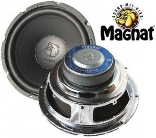 1 Stück 25 cm Subwoofer Magnat Transforce 1000 Tieftöner Basslautsprecher 250 Watt max. (Subwoofer Watt 250)