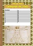 Leonardo da Vinci - Kalender: Immerwährender/ewiger Kalender mit Zeichnungen von Leonardo da Vinci - Theo von Taane