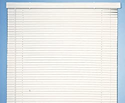 Achim Home Furnishings Morning Star 1-Inch Mini Blinds, 33 by 72-Inch, Wood