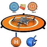Kingwon Drone Landing Pad pista de aterrizaje para DJI phantom 3 dron accesorios plataforma para DJI mavic pro phantom 3 3 standard phantom 4 4 PRO,30 '(75cm)
