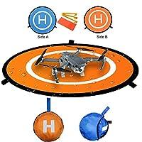 Description:  Etat: neuf et de haute qualité. Diamètre: 75cm Diamètre plié: 35cm Matériau: Nylon. Poids: 300g Piste d'atterrissage en nylon de haute qualité pour votre hélicoptère / drone / quadcopter. Les deux dimensions peuvent être utilisées, ...
