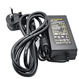 JnDee™ 12V 3A 3 amp 36W AC / DC POWER Supply ADAPTER Transformer ## Great For LCD Monitors and LCD TVs and Powering LED Strip ## (12V 3A)