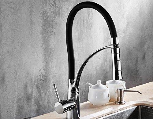sun-ll-robinet-de-cuisine-en-cuivre-robinet-de-cuisine-en-fonte-deau-chaude-et-froide-couleur-noir-