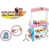 Ginzick Super Fun Kids Ice Cream Shop Playset 47 pieces by Ginzick