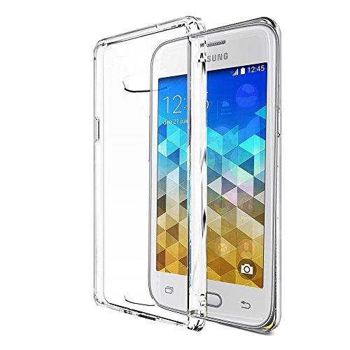 Trasparente Clear Custodia TPU per Samsung Galaxy Trend 2 Lite Smartphone - Funda Protective Cover Protettiva Samsung Galaxy Trend 2 Lite Transparent - XEPTIO Accessori