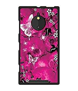 Crazymonk Premium Digital Printed Back Cover For Nokia Lumia 830