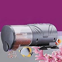 Alimentador automatico / manual digital con temporizador y soporte ventosa para acuario