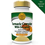 Turmeric Curcumin ORGANIC with Bioperine Black Pepper for Max Absorption. 1510mg Highest Potency