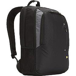 """Case Logic VNB217 Sac à dos en Nylon pour ordinateur 15-17,3"""" Noir"""