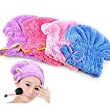 Best Quick Drying Towels - Shunkk Women's Quick Hair Drying Towel Head Wrap Review