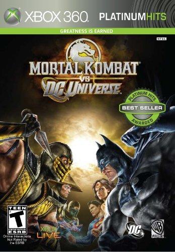 Mortal Kombat Vs DC Universe (Dc Universe-spiele Für Xbox 360)