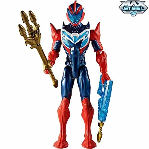 Sea Arrow Max Steel Personaggio con Accessori Action Figure Mattel Giocattoli