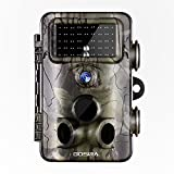 Gosira Wildlife Trail Camera 12MP 1080P 0.4s Trigger 940nm Updated 42pcs Infrared LED Night Vision 20M/65FT Motion Activated Sensor Game Cam 120°Detection Outdoor Hunting Accessories Security Monitor