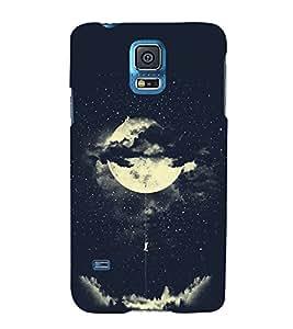 FUSON Amorous Exploits Love Moon 3D Hard Polycarbonate Designer Back Case Cover for Samsung Galaxy S5 Mini :: Samsung Galaxy S5 Mini Duos :: Samsung Galaxy S5 Mini Duos G80 0H/Ds :: Samsung Galaxy S5 Mini G800F G800A G800Hq G800H G800M G800R4 G800Y