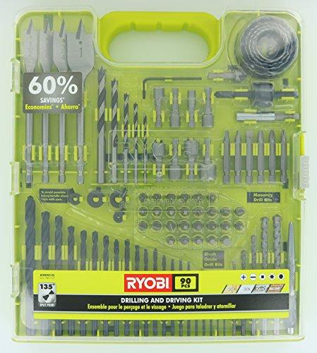 Ryobi 90-Piece Drilling And Driving Accessory Kit by Ryobi (Ryobi Schlüssel)