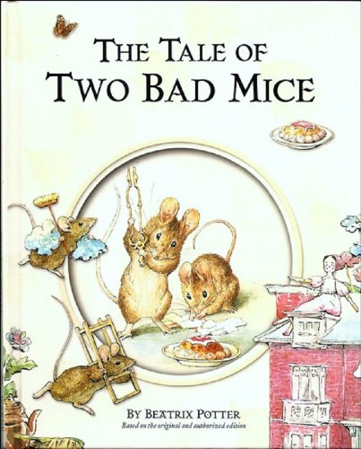 The Tale of Two Bad Mice (with Illustrations and Audiobook) (English Edition)