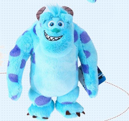 Disney / Pixar Monsters, Inc - Sulley Plush Doll -10 inch