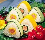 Hunpta Dreieck Sushi Mold onigiri Rice Ball Bento Küche Tool Nori Rice Ball Mold (Random)