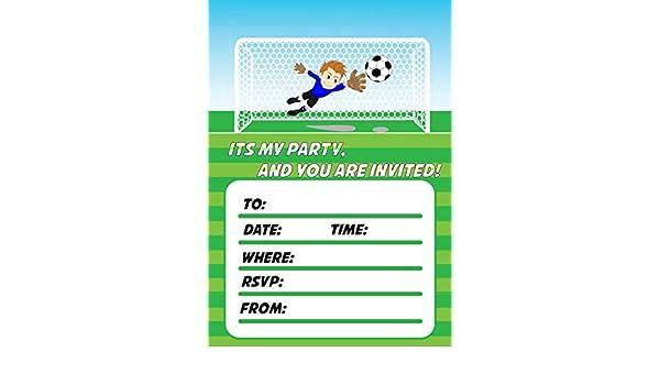 Roystone Print Works 20 x A5 Gamer Boys Girls Birthday party invitations invites fun
