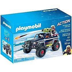 Playmobil- Véhicule Tout Terrain avec Pirates des Glaces, 9059