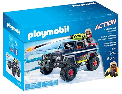 Playmobil- Todoterreno con Piratas del Hielo