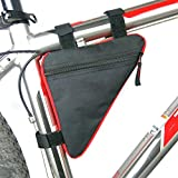 #2: CadetBlue Triangle Shape Waterproof Easy to Attach Cycling Bag with Multiple Pocket [SF010]
