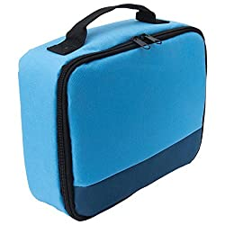 Canon Selphy Cp1200 Cp910 Case - Caiul Comprehensive Protection Carry Case For Canon Selphy Cp1200 Cp910 Cp900 Cp800 Portable Wireless Photo Printers (Blue Gradient)