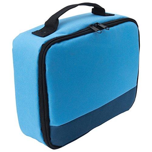 Canon Selphy CP1200 CP910 Tasche – CAIUL Umfassenden Schutz Tragetasche Schutzhülle für Canon Selphy CP1200 / CP910 / CP900 / CP800 Portable Wireless Fotodrucker (Blau)