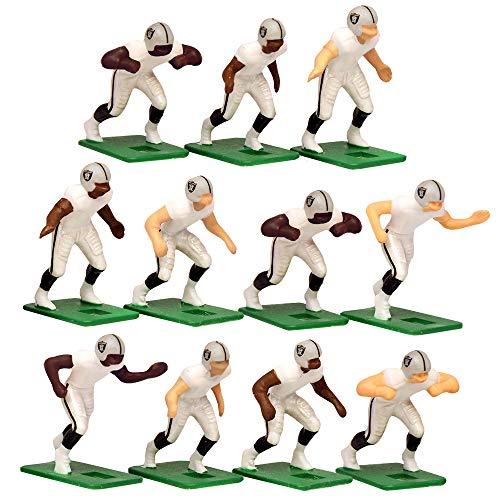 Oakland Raiders?White Uniform NFL Action Figure Set by Tudor Games
