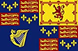 magFlags Flagge: XL Royal Standard of Great Britain 1603-1649 | Royal Standard of Great Britain 1603-1649, 1660-1689, 1702-1707 | Querformat Fahne | 2.16m² | 120x180cm » Fahne 100% Mad
