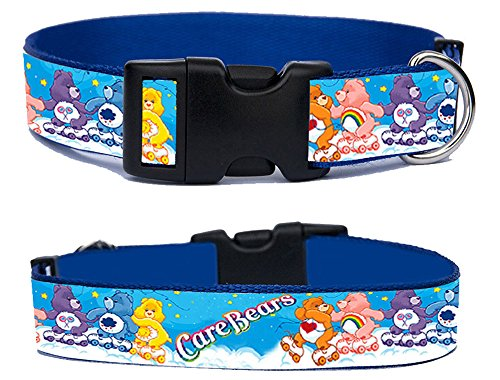 care-bears-osos-amorosos-handmade-dog-collar-adjustable-size-xl