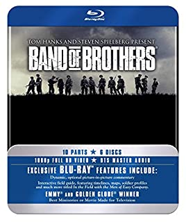 Band Of Brothers - The Complete Series (Commemorative 6-Disc Gift Set in Tin Box) [Blu-ray] [2010] (B003YCOIFY) | Amazon price tracker / tracking, Amazon price history charts, Amazon price watches, Amazon price drop alerts