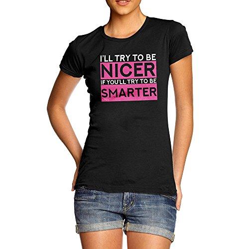 TWISTED ENVY Camicia - Maniche Corte - Donna Black