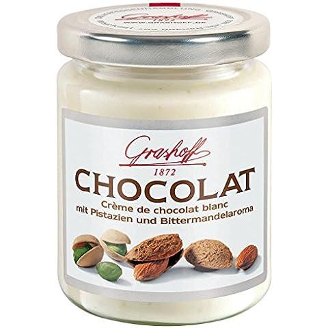 Grashoff - Crema de chocolate blanco con pistacho y almendra 250gr